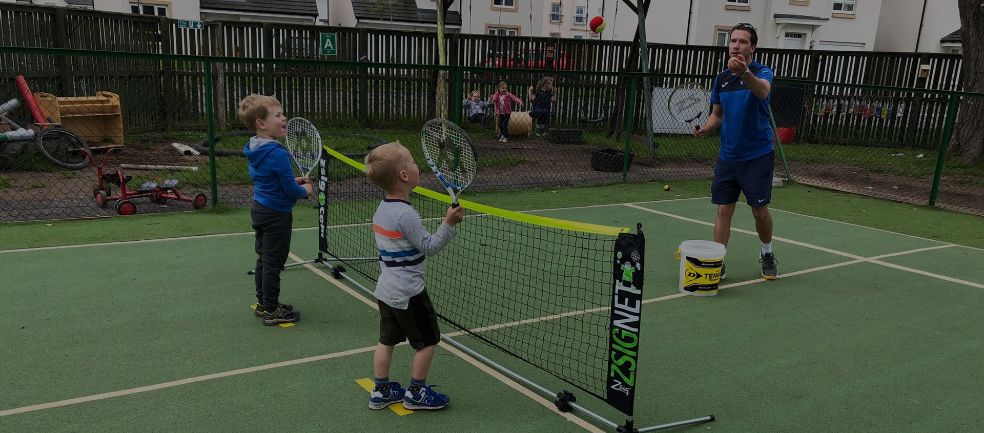 Nursery Tennis - now available at Pinocchio's (currently suspended)